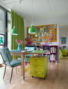Exceptional Home Office Ideas/home Office Inspiration/home Office Design/home Office  Decor/colorful Office Good Ideas