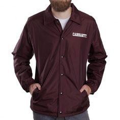 CARHARTT College Jacket Taffeta Damson veste coupe vent 89,00 € #skate #skateboard #skateboarding #streetshop #skateshop @playskateshop