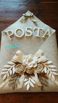 Porta posta feltro