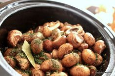 Chicken and mushrooms in the slow cooker..made this tonight...dynamite.  I will try mixing in wine next time.  This goes great with the roasted broccoli.  I used boil n the bag white rice and it couldn't have been simpler.  It will be a staple here.