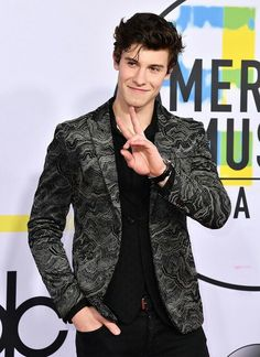 Shawn Mendes at the AMAs 2017