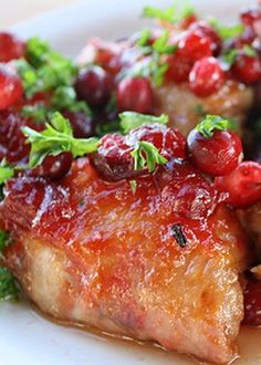 The Best Recipes: Slow Cooker Cranberry Chicken