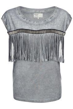 Pulz Jeans bluse Glam sl. less blouse grå Smoke Brush P95370B Smoke, Blouse, Jeans, Polyvore, Tops, Fashion, Silk, Rocks, Feminine Fashion