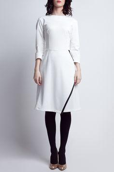 lanti - Julia Dress in Ecru