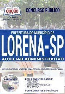 Apostila Prefeitura De Lorena 2019 Pdf Concursos Publicos