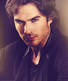 Ian Somerhalder. I'm not gonna lie, I'm terribly infatuated with this man.