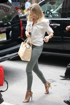 Cameron Diaz's street style could influence Pour La Victoire's upcoming collections.