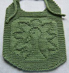 Gobble! - Free Knit Bib Pattern
