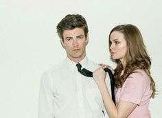 Danielle Panabaker and Grant Gustin photoshoot - Snowbarry The Flash CW
