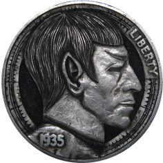 Barcelona-based artist Paolo Curcio carves tiny bas-relief sculptures into coins (known as the hobo nickel). His works are amazing. Click through to the original for a lot of amazing works.
