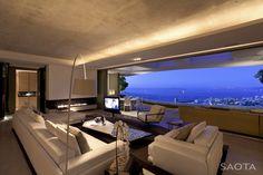 70 moderne, innovative Luxus Interieur Ideen fürs Wohnzimmer - moderne luxus weiss farbe ausstattung wunderschoen ausblick