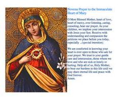 View source image Novena Prayers, Blessed Mother, View Source, Image, Painting, Art, Art Background, Painting Art, Kunst