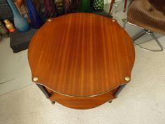 vintage retro mid century atomic side table end table coffee table dansette legs  #atomic #coffeetable #dansettlegs #endtable #kitsch #midcentury #retro #roundtable #Sidetable #sputnik #teak #vintage:separator:
