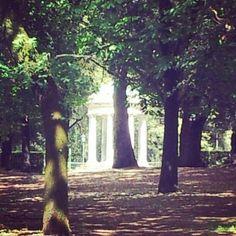 garden, villa borghese, rome