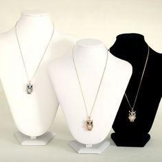 Rhinestone Owl Pendant Necklaces Combination