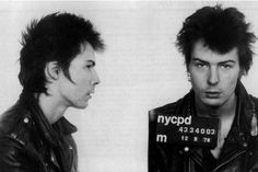 Sid Vicious, 1978 New York Charge: Murder of Nancy Spungen