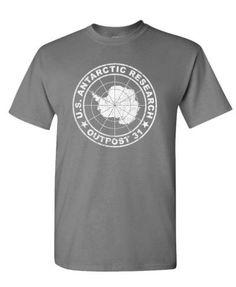 Outpost 31 Antarctica Research - horror - Cotton Unisex T-Shirt, Size: XXL, Black