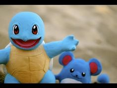 Pokémon Squirtle polymer clay tutorial