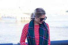 Style Cubby Post: Holiday Stripes and Plaid by Style Cubby visit www.stylecubby.com