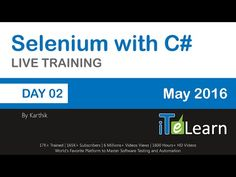 Selenium with C# Live Training Day 02 Writing Test Cases in Selenium IDE - YouTube