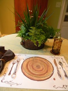 A Toile Tale   This is a great blog for tablescapes