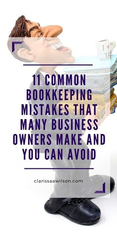 Most Common Bookkeeping Mistakes to Avoid in your Business – Finance tips for small business Small Business Bookkeeping, Bookkeeping And Accounting, Small Business Accounting, Bookkeeping Services, Accounting And Finance, Business Funding, Business Tips, Successful Business, Bookkeeping Course