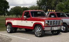 Dually Trucks, Ford Pickup Trucks, Classic Ford Trucks, Classic Cars, Chevy C10, Chevrolet, Ford Diesel, All Truck, Old Fords