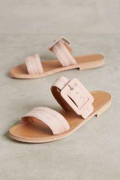 1ad020aaf Morena Gabbrielli Quilted Slide Sandals