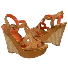 The tan PACIFICA wedges from Fergie will turn heads with their retro-inspired vibe.