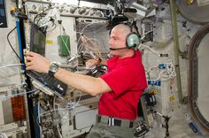 Contact the ISS (International Space Station) via amateur radio