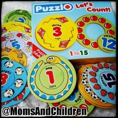 Puzzle Edukasi | PuzzlO : Lets Count Ayo kenalkan berbagai angka pada anak-anak dengan cara yang menyenangkan dengan PuzzlO. Contact us : Line@ : @MomsAndChildren whatsapp : +6283897632306 BBM : 769432FC Good Customer Service, Counting, Let It Be