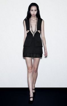 GRIAO, SS11: imagining this vest with a zana bayne harness is making my eyes glaze over.