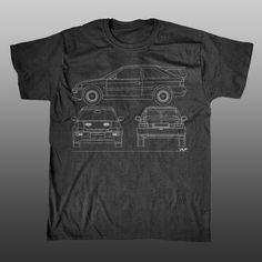 Ford Escort Cosworth - Racing Line Mens T-shirt | Unlap | motorsport merchandise | formula 1 t-shirts | btcc gifts