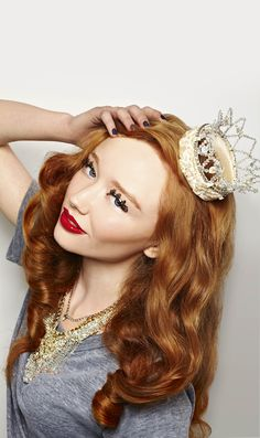 I wish I were a princess... so that wearing a crown in public would make sense :)