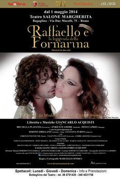 Raffaello e la Leggenda della Fornarina al Salone Margherita di Roma - stagione 2013/2014.