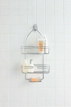 Most Popular   Lotus Shower Caddy, Two Large Shelves And One Soap Caddy.  Fits
