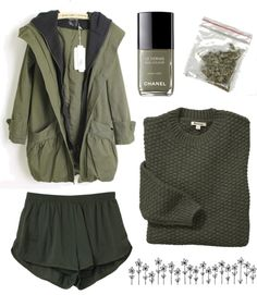 """khaki"" by sarahcwalker ❤ liked on Polyvore"