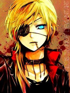 Alois Trancy's and Ciel Phantomhive's child? Never been interested in the pairing but sadly i can see it...