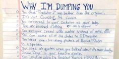 9 Epic Break-Up Letters That Certainly Did The Trick To End The Relationship (Photos)