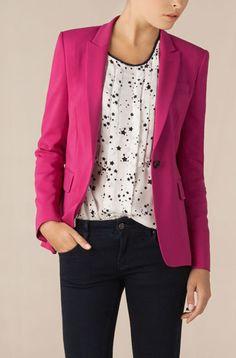 Jackets are a wardrobe staple.