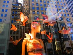 NY- Bergdorf Goodman's Easter Window Display 2008
