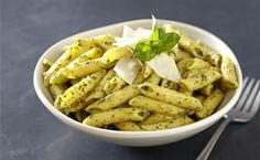 Homemade Basil Pesto with Wheat Germ