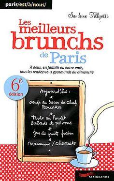 """Prix recommandé : 6,00€ - Livre """"Les meilleurs brunchs de Paris"""" de Sandrine FILLIPITTI - Amazon.fr"""