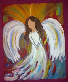 Angel. Check out my Etsy page! KT'sCanvases