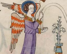 Detail from The Luttrell Psalter, British Library Add MS 42130 (medieval manuscript,1325-1340), f86r
