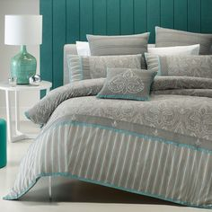 1000+ images about bed linen & throws on Pinterest | Teal ...