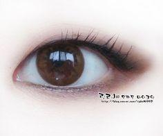 무쌍 눈화장 , 홑꺼풀 김연아 메이크업 으로 그윽그윽하게~ : 네이버 블로그