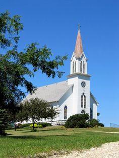 Little white churches!