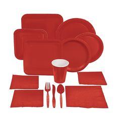 Red+Tableware+-+OrientalTrading.com