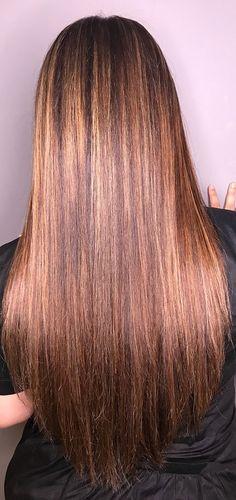 Indian Long Hair Braid, Braids For Long Hair, Chocolate Brown Hair Color, Brown Hair Colors, Straight Hairstyles, Braided Hairstyles, Cool Hairstyles, Hair Color Highlights, Silky Hair